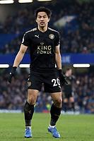 Shinji Okazaki of Leicester city during Chelsea vs Leicester City, Premier League Football at Stamford Bridge on 13th January 2018