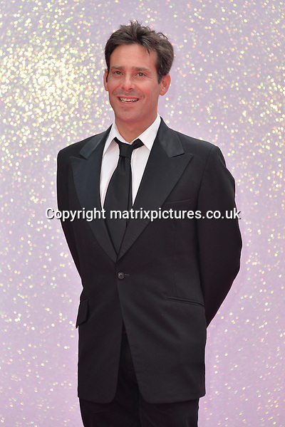 NON EXCLUSIVE PICTURE: MATRIXPICTURES.CO.UK<br /> PLEASE CREDIT ALL USES<br /> <br /> WORLD RIGHTS<br /> <br /> English &quot;Necropolis&quot; actor James Callis attends the world premiere of &quot;Bridget Jones's Baby&quot; at Leicester Square in London.<br /> <br /> SEPTEMBER 5th 2016<br /> <br /> REF: JWN 162864