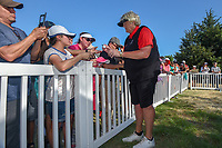 Laura Davies (ENG) signs autographs following the Volunteers of America LPGA Texas Classic, at the Old American Golf Club in The Colony, Texas, USA. 5/6/2018.<br /> Picture: Golffile | Ken Murray<br /> <br /> <br /> All photo usage must carry mandatory copyright credit (&copy; Golffile | Ken Murray)