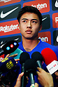 Hiroki Abe press conference with FC Barcelona