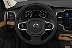 Car pictures of steering wheel view of a 2018 Volvo XC90-4WD Inscription 5 Door SUV Steering Wheel