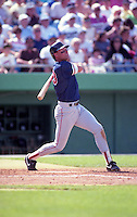 Boston Red Sox Tom Brunansky during spring training circa 1992 at Chain of Lakes Park in Winter Haven, Florida.  (MJA/Four Seam Images)