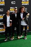 SANTA MONICA, CA - FEB 18: C.J. Manigo, Ali Sepasyar, Jackson Rogow at the 2012 Cartoon Network Hall of Game Awards at Barker Hangar on February 18, 2012 in Santa Monica, California