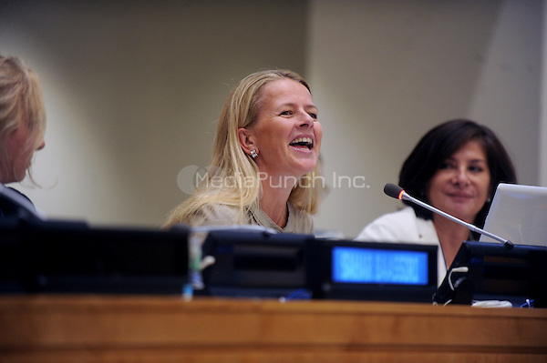 "Princess Mabel Van Oranje attends a talk on ""Girls Not Brides: The Global Partnership to End Child Marriage""on September 14, 2015 in New York. Credit: Dennis Van Tine/MediaPunch"