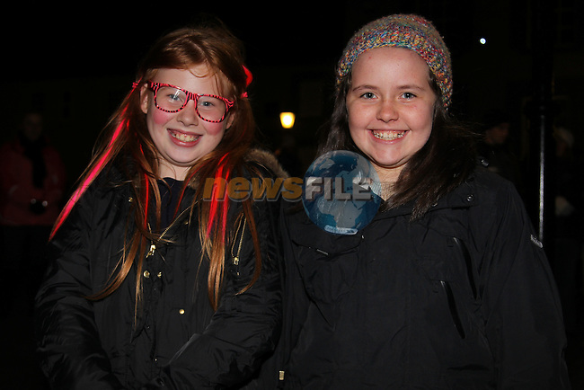 Sophie Kelly Louisa Keller.at the walking ghost tours in Millmount..Picture: Fran Caffrey/www.newsfile.ie.