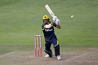Ruaidhri Smith hits 4 runs for Glamorgan during Glamorgan vs Essex Eagles, Vitality Blast T20 Cricket at the Sophia Gardens Cardiff on 7th August 2018