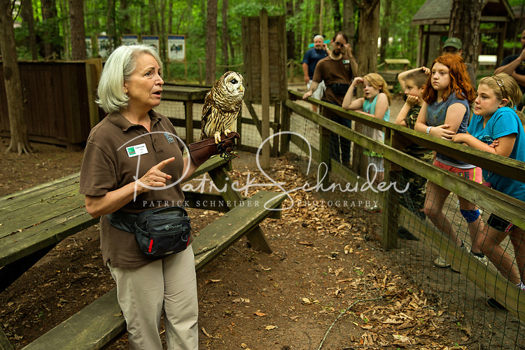 Photography of the Carolina Raptor Center located within the Latta Plantation Nature Preserve in Huntersville, North Carolina.<br /> The 57-acre living museum and avian medical facility displaying over 25 species of raptors in a zoo-like setting. <br /> <br /> Charlotte Photographer - PatrickSchneiderPhoto.com