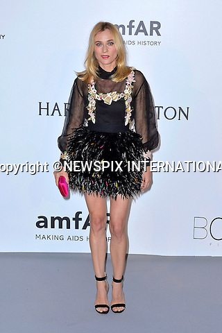 12.05.2015, Antibes; France: DIANE KRUGER<br /> attends the Cinema Against AIDS amfAR gala 2015 held at the Hotel du Cap, Eden Roc in Cap d'Antibes.<br /> MANDATORY PHOTO CREDIT: &copy;Thibault Daliphard/NEWSPIX INTERNATIONAL<br /> <br /> (Failure to credit will incur a surcharge of 100% of reproduction fees)<br /> <br /> **ALL FEES PAYABLE TO: &quot;NEWSPIX  INTERNATIONAL&quot;**<br /> <br /> Newspix International, 31 Chinnery Hill, Bishop's Stortford, ENGLAND CM23 3PS<br /> Tel:+441279 324672<br /> Fax: +441279656877<br /> Mobile:  07775681153<br /> e-mail: info@newspixinternational.co.uk