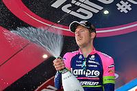 Picture by Pier Maulini/SWpix.com 27/05/2015 Cycling - Giro d'Italia - 27/05/2015 - Stage Seventeen - Tirano - Lugano ( Switzerland )<br /> copyright picture - Simon Wilkinson - simon@swpix.com<br /> Sacha Modolo is the winner