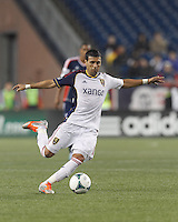 Real Salt Lake midfielder Javier Morales (11) passes the ball.