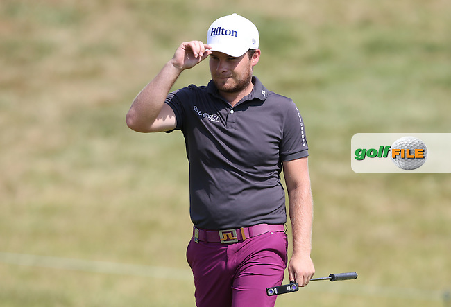 Tyrrell Hatton (ENG) during Round Three of the 2015 Alstom Open de France, played at Le Golf National, Saint-Quentin-En-Yvelines, Paris, France. /04/07/2015/. Picture: Golffile | David Lloyd<br /> <br /> All photos usage must carry mandatory copyright credit (&copy; Golffile | David Lloyd)
