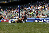 Twickenham, England.  USA Salesi SIKA, during the Churchill Cup game, Canada vs USA, at Twickenham Stadium  02/06/2007 [Mandatory Credit Peter Spurrier/ Intersport Images]