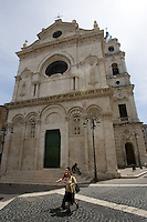Veduta esteriore della Cattedrale di Foggia.<br /> Exterior view of the Cathedral of Foggia.<br /> UPDATE IMAGES PRESS/Riccardo De Luca