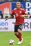 15.08.2018,  GER; FBL, Testspiel, Hamburger SV vs FC Bayern Muenchen ,DFL REGULATIONS PROHIBIT ANY USE OF PHOTOGRAPHS AS IMAGE SEQUENCES AND/OR QUASI-VIDEO, im Bild Einzelaktlion Hochformat Rafinha (Bayern #13) Foto © nordphoto / Witke