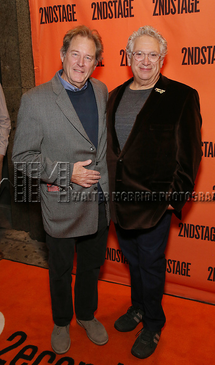 Brian Kerwin and Harvey Fierstein attend the Off-Broadway Opening Night performance of the Second Stage Production on 'Torch Song'  on October 19, 2017 at Tony Kiser Theater in New York City.