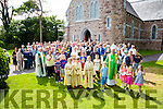 A large group attended the Centenary Mass Celebration with Bishop Ray Browne in The Church of the Immaculate Conception in Knightstown, Valentia on Sunday.
