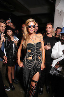 MILAN, IT - SEPTEMBER 21: Paris Hilton backstage at Philip Plein fashion show during Milan Fashion Week ss17 on September 21, 2016 Credit: GOL/Capital Pictures/MediaPunch ***NORTH AND SOUTH AMERICAS ONLY***