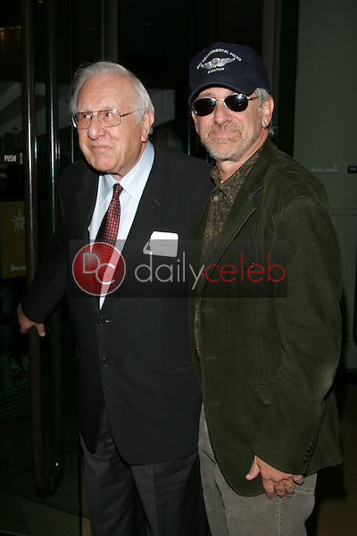 Steven Spielberg and his father<br />at the 78th Annual Academy Award Nominees Luncheon. Beverly Hilton Hotel, Beverly Hills, CA. 02-13-06<br />Scott Kirkland/DailyCeleb.Com 818-249-4998