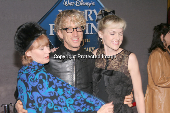 Ann Magnuson , Andy Dick &amp; Elaine Hendrix<br />&quot;Mary Poppins&quot; 40th Anniversary and Launch of the Special Edition DVD<br />El Capitan Theatre<br />Hollywood, CA, USA<br />Tuesday, November 30th, 2004<br />Photo By Celebrityvibe.com/Photovibe.com, <br />New York, USA, Phone 212 410 5354, <br />email: sales@celebrityvibe.com