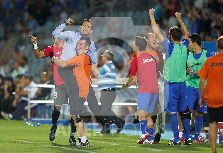 Madrid(26/08/2012).- Coliseum Alfonso Perez..Liga BBVA, Jornada nº2..Getafe - Real Madrid..Luis Garcia...Photo: Alex Cid-Fuentes / ALFAQUI..