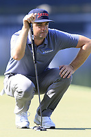 Keegan Bradley (USA) on the 14th green during Thursday's Round 1 of the 2017 PGA Championship held at Quail Hollow Golf Club, Charlotte, North Carolina, USA. 10th August 2017.<br /> Picture: Eoin Clarke | Golffile<br /> <br /> <br /> All photos usage must carry mandatory copyright credit (&copy; Golffile | Eoin Clarke)