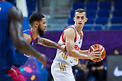 7th September 2017, Fenerbahce Arena, Istanbul, Turkey; FIBA Eurobasket Group D; Russia versus Great Britain; Point Guard Dmitry Khvostov #13 of Russia in action during the match