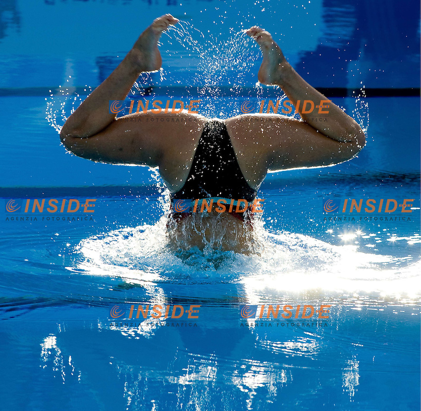 Roma 22nd July 2009 - 13th Fina World Championships From 17th to 2nd August 2009..Solo Free..DIAZ Julieta Andrea ARG..photo: Roma2009.com/InsideFoto/SeaSee.com