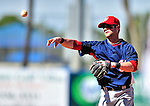 7 March 2010: Washington Nationals' infielder Adam Kennedy in action during a Spring Training game against the New York Mets at Tradition Field in Port St. Lucie, Florida. The Mets edged out the Nationals 6-5 in Grapefruit League pre-season play. Mandatory Credit: Ed Wolfstein Photo