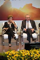 BRASILIA, DF, 07.10.2015 - DILMA-OLIMPICO -  A presidente Dilma Rousseff e o vice-presidente, Michel Temer, durante a cerimônia Ano Olímpico para o Turismo, no  Centro de Convenções Ulysses Guimarães, nessa quarta-feira.(Foto:Ed Ferreira / Brazil Photo Press)
