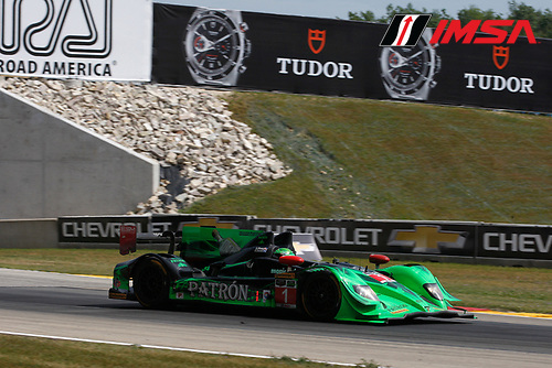 8-10 August 2014, Elkhart Lake, Wisconsin USA<br /> 1, Honda, HPD ARX-03b, P, Scott Sharp, Ryan Dalziel<br /> &copy;2014, Phillip Abbott<br /> LAT Photo USA for IMSA