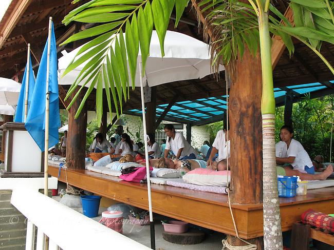 Thai massage. Ao Nang, Thailand