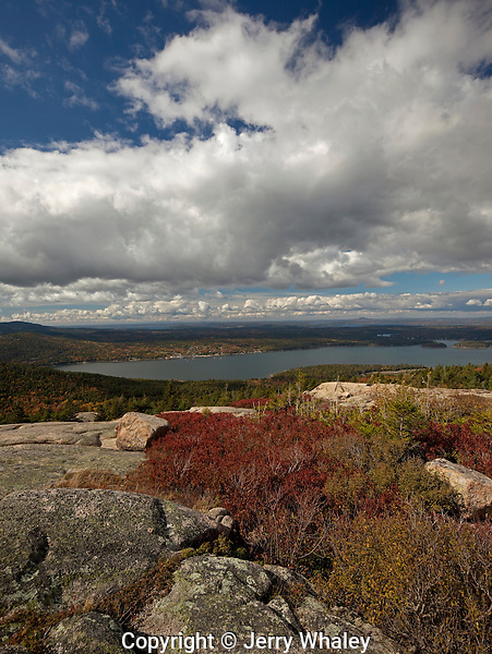 Parkman Mountain Trail, Acadia NP, Autumn
