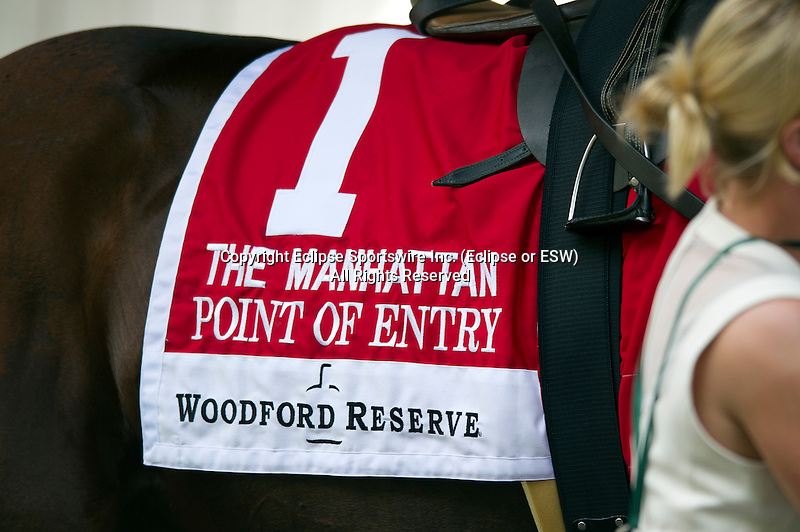 The Woodford Reserve Manhattan, at Belmont Park in Elmont, New York on June 8, 2013.
