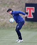 Fran Sandaza back in training