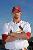 Mar 01, 2010; Jupiter, FL, USA; St. Louis Cardinals pitcher Kyle McClellan (46) during  photoday at Roger Dean Stadium. Mandatory Credit: Tomasso De Rosa/ Four Seam Images