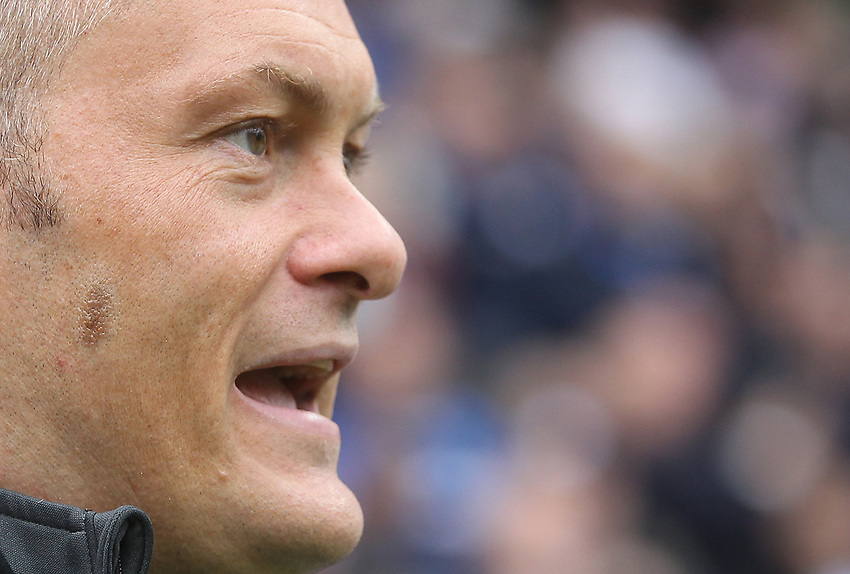 Preston North End's Manager Alex Neil<br /> <br /> Photographer Mick Walker/CameraSport<br /> <br /> The EFL Sky Bet Championship - Preston North End v Wigan Athletic - Saturday 10th August 2019 - Deepdale Stadium - Preston<br /> <br /> World Copyright © 2019 CameraSport. All rights reserved. 43 Linden Ave. Countesthorpe. Leicester. England. LE8 5PG - Tel: +44 (0) 116 277 4147 - admin@camerasport.com - www.camerasport.com