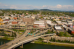 Aerial View of East Portland, Oregon