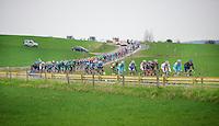Liège-Bastogne-Liège 2013..sweeping peloton