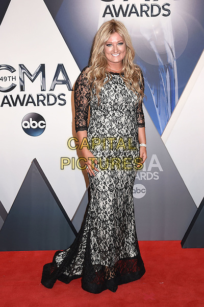 4 November 2015 - Nashville, Tennessee - Erica Nicole. 49th CMA Awards, Country Music's Biggest Night, held at Bridgestone Arena. <br /> CAP/ADM/LF<br /> &copy;LF/ADM/Capital Pictures