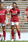 24 August 2014: Stanford's Maddie Bauer. The Duke University Blue Devils played the Stanford University Cardinal at Fetzer Field in Chapel Hill, NC in a 2014 NCAA Division I Women's Soccer match. Stanford won the game 2-0.