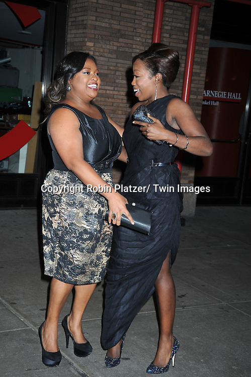 Sherri Shepherd and Estelle  attending The Glamour Magazine 20th Annual Women of the Year on November 8, 2010 at Carnegie Hall in New York City.