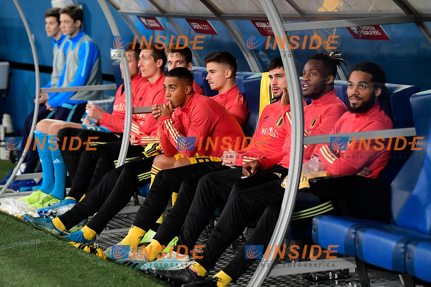 Youri Tielemans midfielder of Belgium pictured  <br /> Saint Petersbourg  - Qualification Euro 2020 - 16/11/2019 <br /> Russia - Belgium <br /> Foto Photonews/Panoramic/Insidefoto <br /> ITALY ONLY