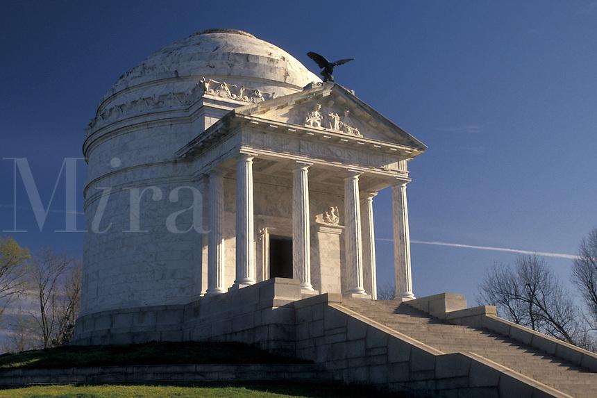 Vicksburg National Military Park, Mississippi, Vicksburg, MS, Illinois Memorial at Vicksburg Nat'l Military Park in Mississippi.