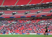 27th May 2018, Wembley Stadium, London, England;  EFL League 1 football, playoff final, Rotherham United versus Shrewsbury Town;  Many empty seats during the final