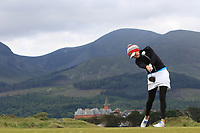 Natalia Guseva (Russia) on the 2nd tee during Round 1 of the Women's Amateur Championship at Royal County Down Golf Club in Newcastle Co. Down on Tuesday 11th June 2019.<br /> Picture:  Thos Caffrey / www.golffile.ie<br /> <br /> All photos usage must carry mandatory copyright credit (© Golffile | Thos Caffrey)