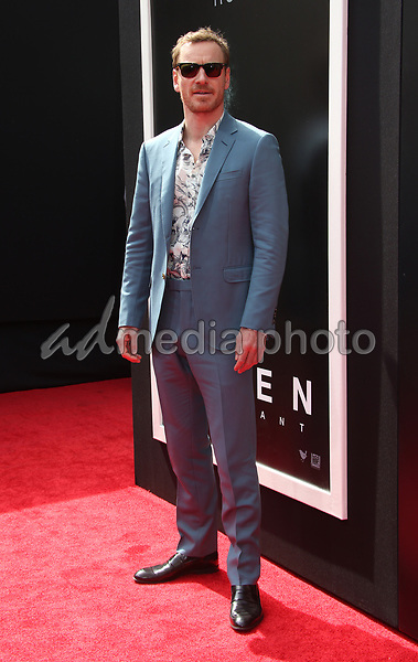 17 May 2017 - Hollywood, California - Michael Fassbender. Sir Ridley Scott Hand And Footprint Ceremony. Photo Credit: AdMedia