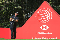Phil Mickelson (USA) on the 11th tee during round 1 at the WGC HSBC Champions, Sheshan Golf Club, Shanghai, China. 31/10/2019.<br /> Picture Fran Caffrey / Golffile.ie<br /> <br /> All photo usage must carry mandatory copyright credit (© Golffile | Fran Caffrey)