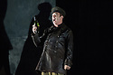 London, UK. 09.09.2014. The new English National Opera season begins with OTELLO, with music by Giuseppe Verdi and written by Arrigo Boito, after William Shakespeare. Directed by David Alden and conducted by Edward Gardner, OBE. Picture shows: Jonathan Summers (Iago). Photograph © Jane Hobson.