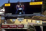 Wings billboard with Paul McCartney 1979