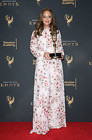 LOS ANGELES, CA - SEPTEMBER 09: Leah Remini, at the 2017 Creative Arts Emmy Awards- Press Room at Microsoft Theater on September 9, 2017 in Los Angeles, California. <br /> CAP/MPIFS<br /> &copy;MPIFS/Capital Pictures